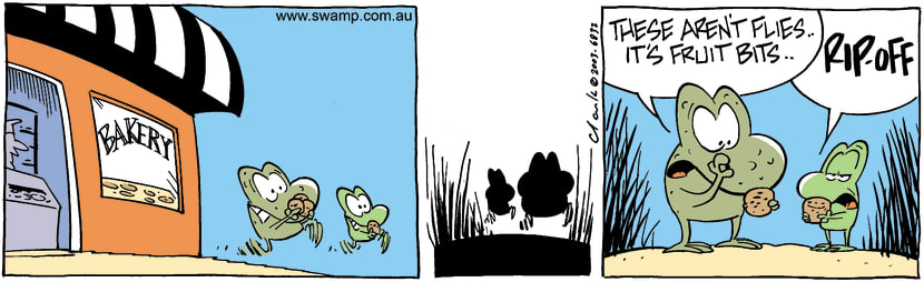 Swamp Cartoon - BakeryAugust 7, 2003