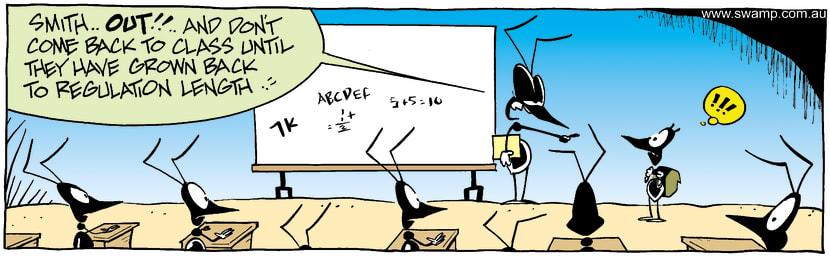 Swamp Cartoon - DismissedAugust 9, 2003
