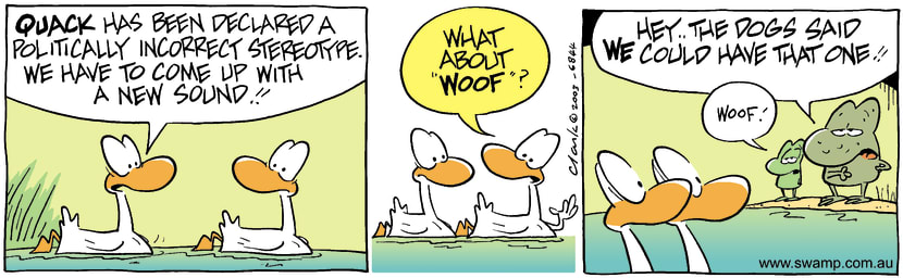 Swamp Cartoon - StereotypeAugust 21, 2003