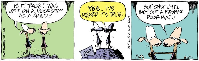 Swamp Cartoon - ChildAugust 25, 2003