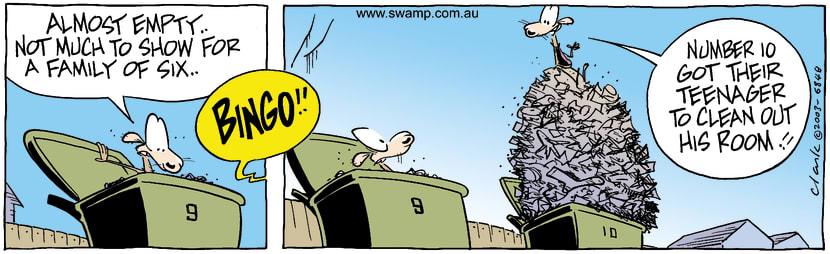 Swamp Cartoon - EmptyAugust 26, 2003