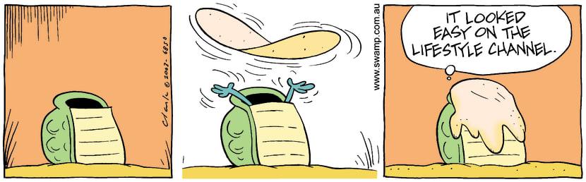 Swamp Cartoon - FlipAugust 28, 2003