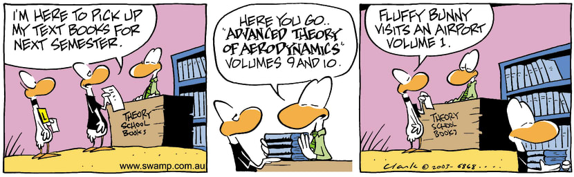 Swamp Cartoon - Text BooksSeptember 18, 2003