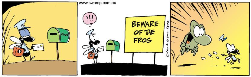 Swamp Cartoon - Post FlySeptember 23, 2003
