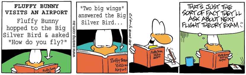 Swamp Cartoon - Fluffy Bunny 1September 24, 2003