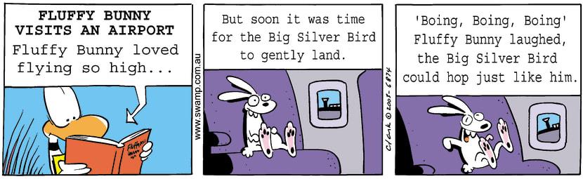 Swamp Cartoon - Fluffy Bunny 2September 25, 2003