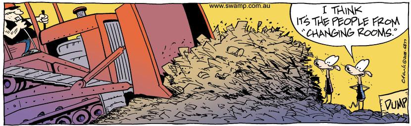 Swamp Cartoon - RenovationSeptember 29, 2003