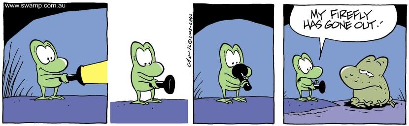 Swamp Cartoon - LightOctober 4, 2003