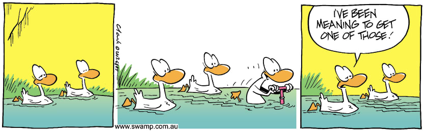 Swamp Cartoon - Easy TransportOctober 8, 2003