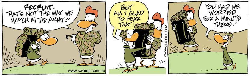 Swamp Cartoon - RecruitOctober 11, 2003