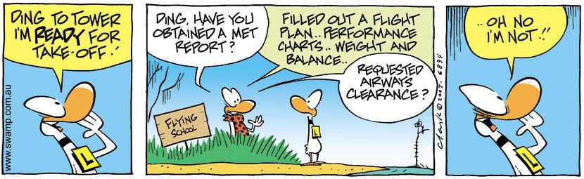 Swamp Cartoon - ReadyOctober 18, 2003