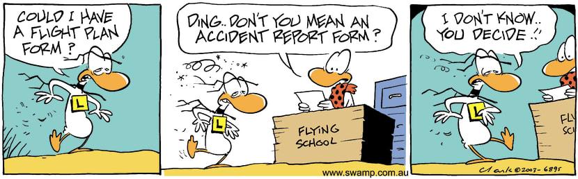 Swamp Cartoon - FormsOctober 20, 2003