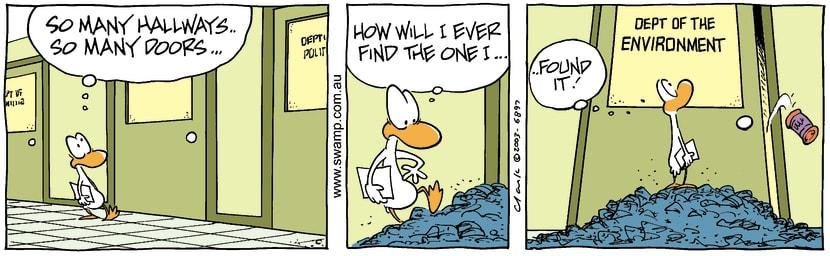 Swamp Cartoon - Environment 1October 22, 2003