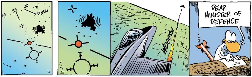 Swamp Cartoon - Lock & LoadNovember 6, 2003