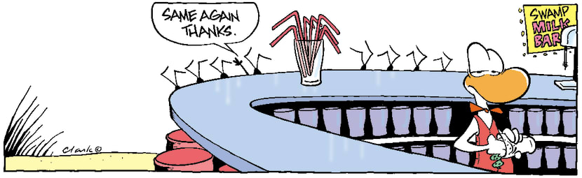 Swamp Cartoon - DrinksNovember 10, 2003