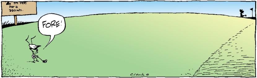 Swamp Cartoon - ForeNovember 11, 2003