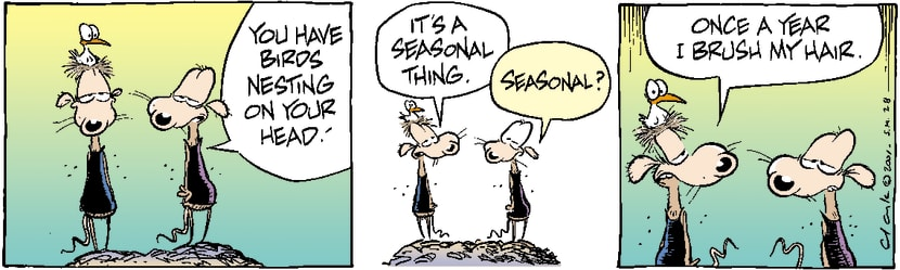 Swamp Cartoon - SeasonalNovember 22, 2003