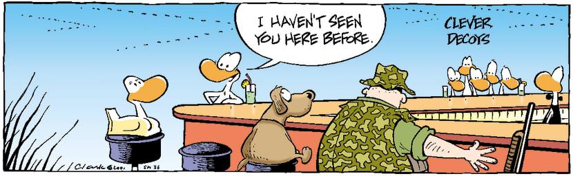 Swamp Cartoon - BarNovember 24, 2003