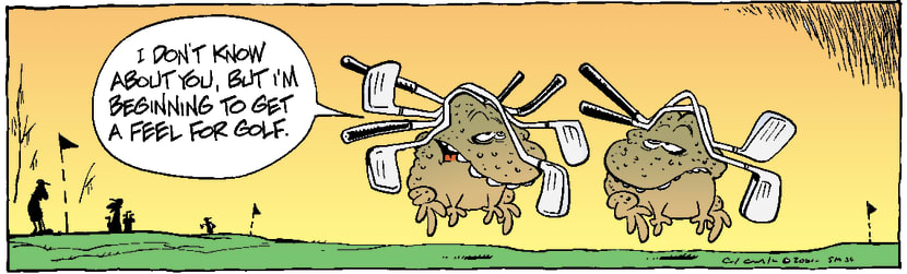 Swamp Cartoon - GolfNovember 25, 2003