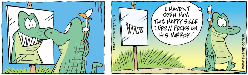 Swamp Cartoon - SmileNovember 27, 2003
