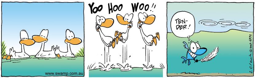 Swamp Cartoon - YooHooWooDecember 2, 2003