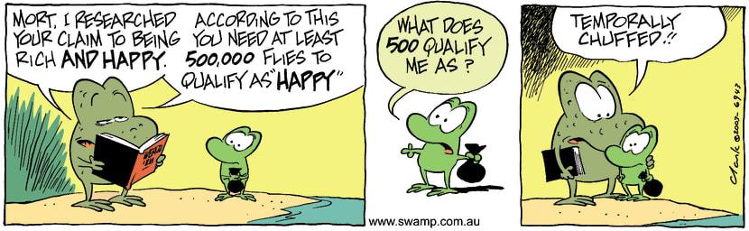 Swamp Cartoon - Rich 2December 15, 2003
