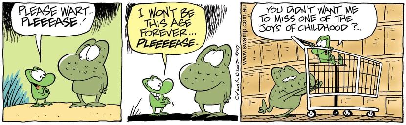 Swamp Cartoon - ChildhoodDecember 19, 2003