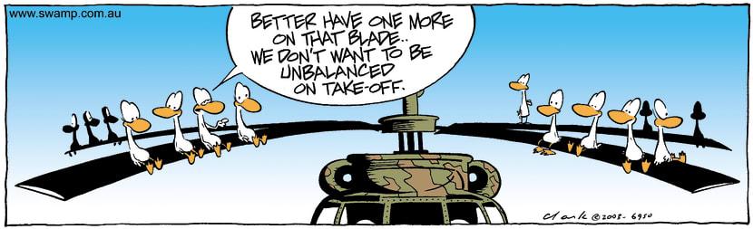 Swamp Cartoon - Free RideDecember 23, 2003