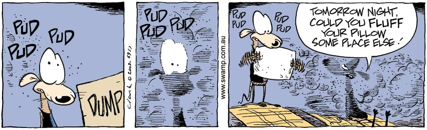 Swamp Cartoon - DustyDecember 31, 2003
