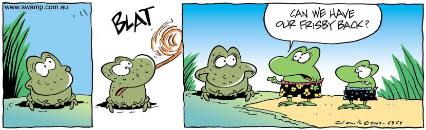 Swamp Cartoon - BlatJanuary 14, 2004
