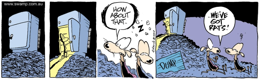 Swamp Cartoon - Rats 1January 29, 2004