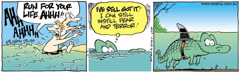 Swamp Cartoon - RunFebruary 6, 2004