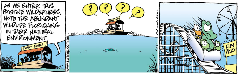 Swamp Cartoon - Natural EnvironmentFebruary 18, 2004