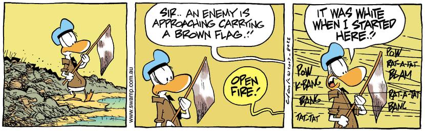Swamp Cartoon - Desperate situationMay 26, 2007