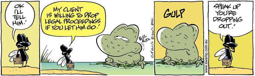 Swamp Cartoon - Risk Taker 3June 18, 2007