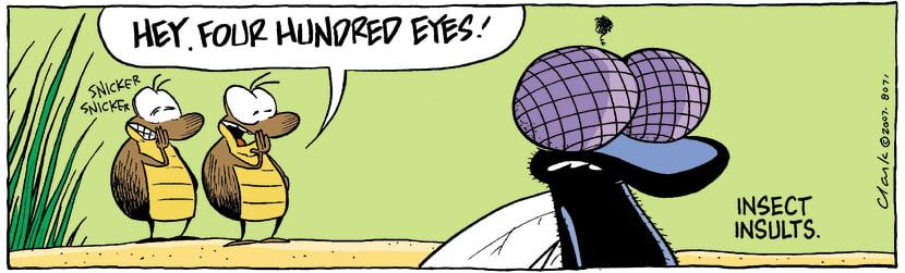 Swamp Cartoon - Insults bug styleJuly 23, 2007