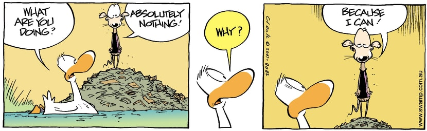 Swamp Cartoon - Chives Rat MindlessAugust 4, 2007