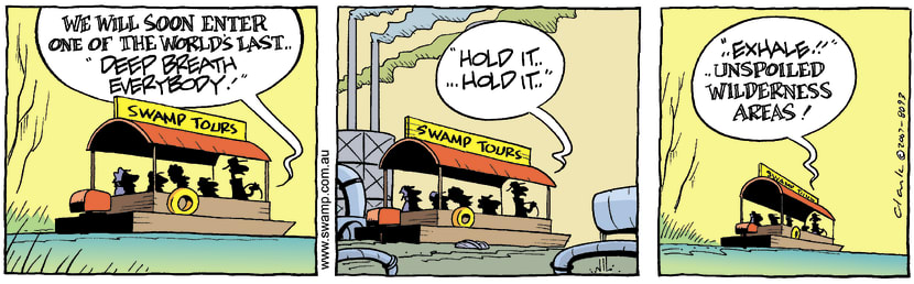 Swamp Cartoon - Take your breath awayAugust 17, 2007