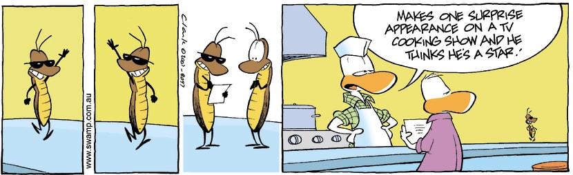 Swamp Cartoon - Cockroach Star PowerAugust 22, 2007