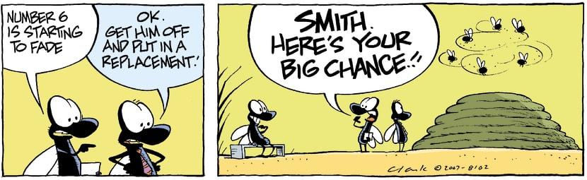 Swamp Cartoon - Big MomentAugust 28, 2007