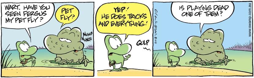 Swamp Cartoon - Lost 1August 30, 2007