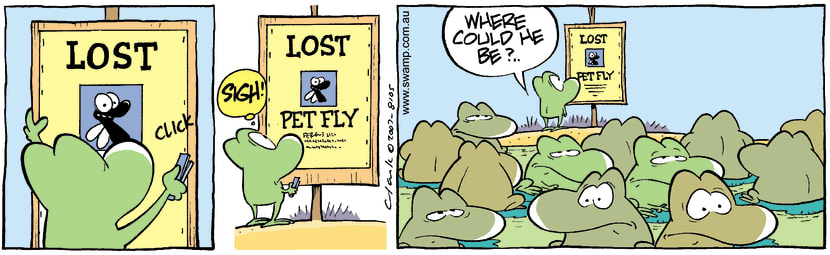 Swamp Cartoon - Lost 2August 31, 2007