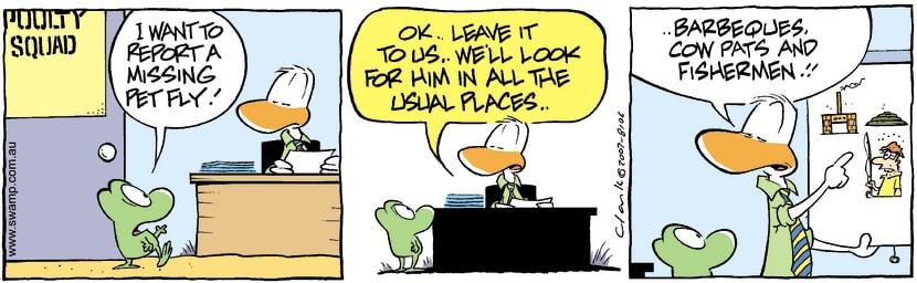 Swamp Cartoon - Lost 3September 1, 2007