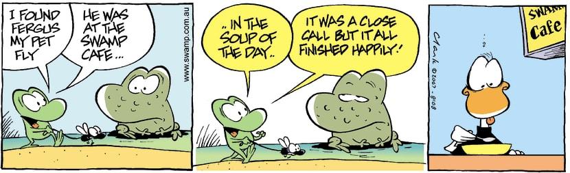 Swamp Cartoon - Lost 5September 4, 2007