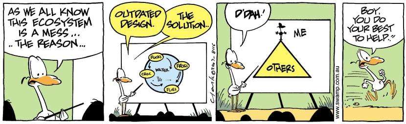 Swamp Cartoon - Eco 4September 13, 2007