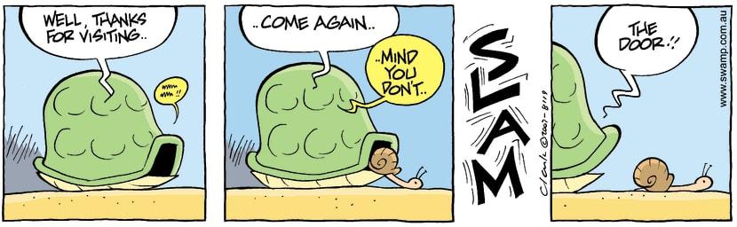 Swamp Cartoon - MannersSeptember 17, 2007