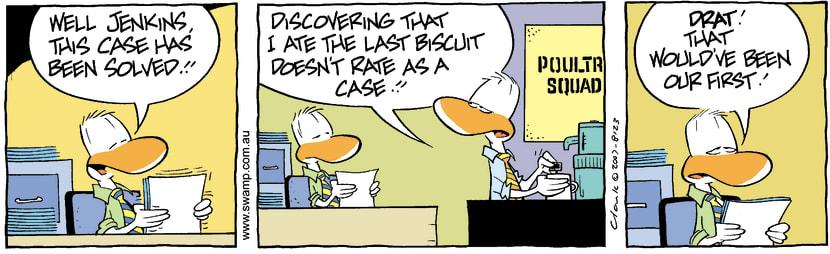 Swamp Cartoon - Solving the caseSeptember 21, 2007