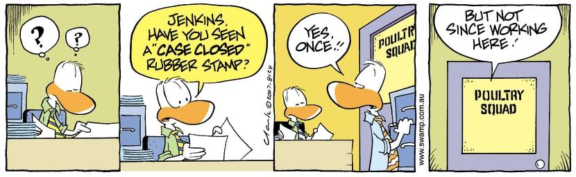 Swamp Cartoon - Lost PropertySeptember 22, 2007
