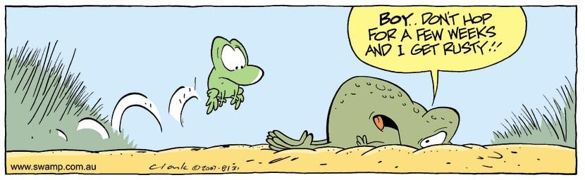 Swamp Cartoon - Poor techniqueOctober 1, 2007