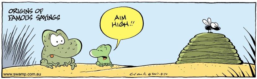 Swamp Cartoon - Famous sayingsOctober 4, 2007